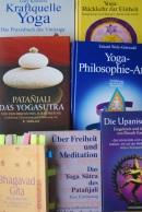 Die Worte im Yoga - in Büchern.